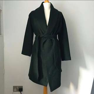Forest Green Long Coat