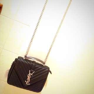 Ysl Monogram College Bag