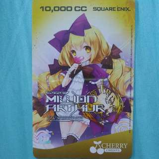 [LF] LOOKING FOR MILLION ARTHUR CHERRY CREDITS CARDS