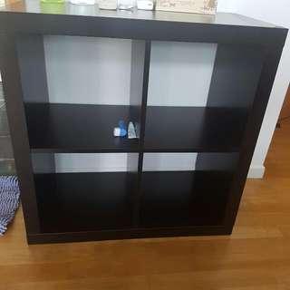 Ikea Kallax 2x2 black