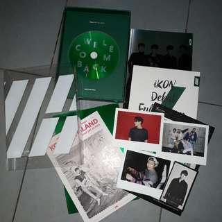 [WTS] IKON DEBUT FULL ALBUM WELCOME BACK GREEN VERSION