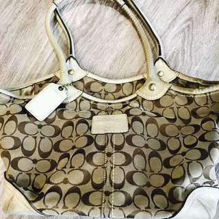 Coach Handbag (moving Out Sale) - Authentic