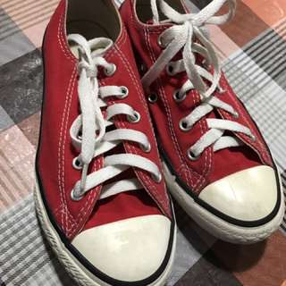 Converse Red For Kids