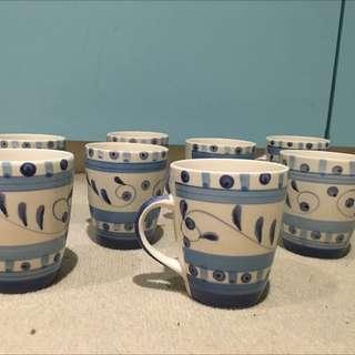 Ceramic Hand Painted Mugs