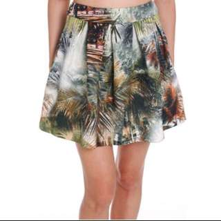 MDS Trip to Safari Pleated Skirt