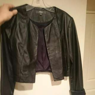 Faux Max Leather Jacket