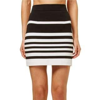 Kookai Almafi Striped Skirt
