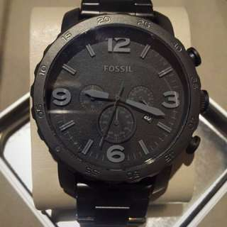 Fossil Matte Black Men's Watch