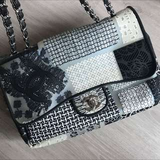 Chanel Limited Edition lace Pattern chain bag