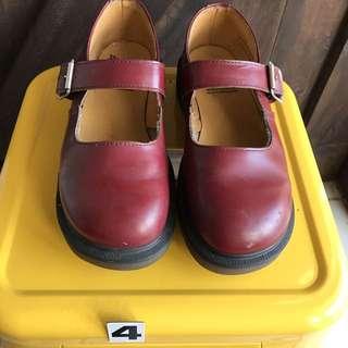 Martens  #古著 英國製造UK4娃娃鞋