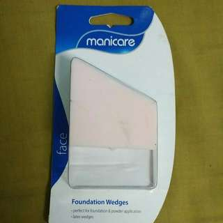 Manicare Foundation Wedges