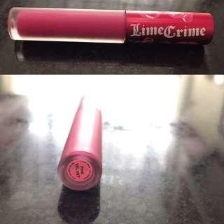 Lime Crime Shade Pink Velvet