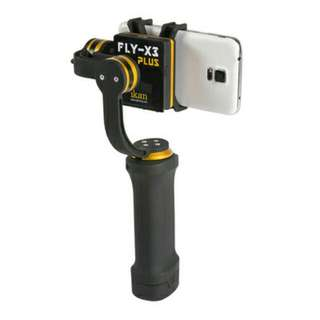 Ikan FLY-X3-Plus 3-Axis smartphone Gimbal Stabilizer with GoPro & Extra Battery