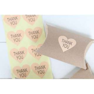 S24: Seal Sticker - Thank You Hearts