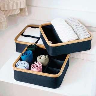 無印良品風 內衣織品收納盒