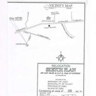 Lot For Sale In Talisay City
