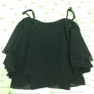 Frill Crop Top