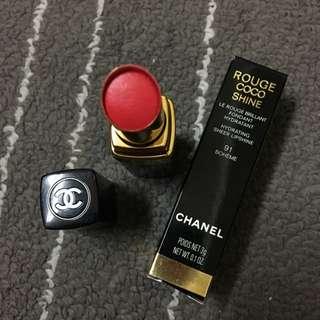 Chanel Coco Shine 唇膏 91