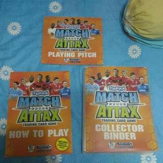 Topps Match Attax 2009/2010 Trading Card Collector Binder