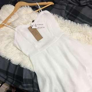 Cotton On Size XS Wv Krispy Dress White