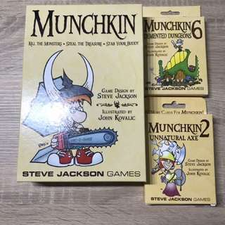 Munchkin with Expansions