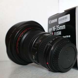 EF16-35mm f/2.8L II USM