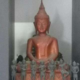 Rare Bronze Statue Of Buddha One N Only