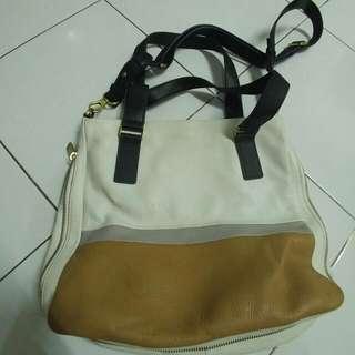 Fossil Original Tri Tone Shoulder Bag