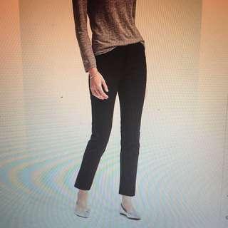 Banana Republic Black Sloan Pant Size 12