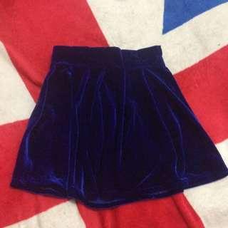 Velvet skirt ( Rok bludru )