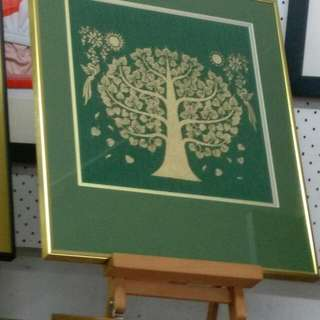 Framed Image Of Fortune Tree
