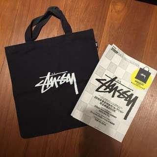 Stussy 手提袋 雜誌