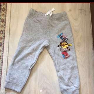 BNWOT H&M Marvel Jogger Boys Pants