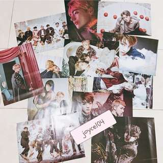 BTS Poster Set (with printed autographed)