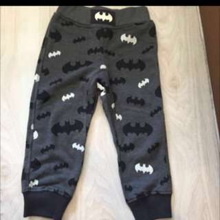 BNWOT H&M Batman Boys Jogger Pants
