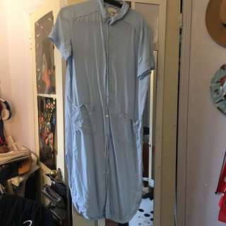Aritzia Wilfred Free T-Shirt Dress