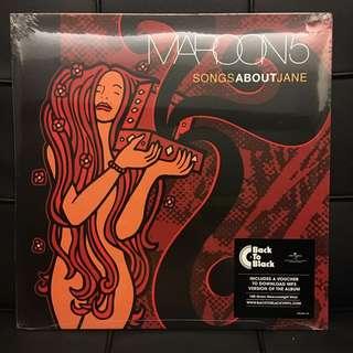 Maroon 5 - Songs About Jane. Vinyl Lp. New