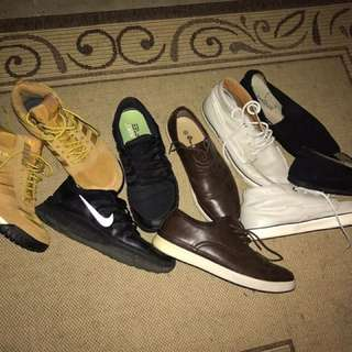 *NOT SOLD SEPARATELY *Assorted Shoes Sizes 10-11