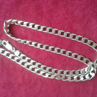 ' Italy 925 Pure Silver Necklace :)