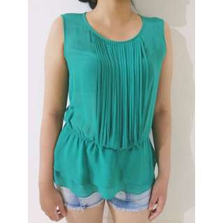 FOREVER 21 Greeny Loose Tanktop