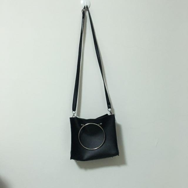 黑 圓環包