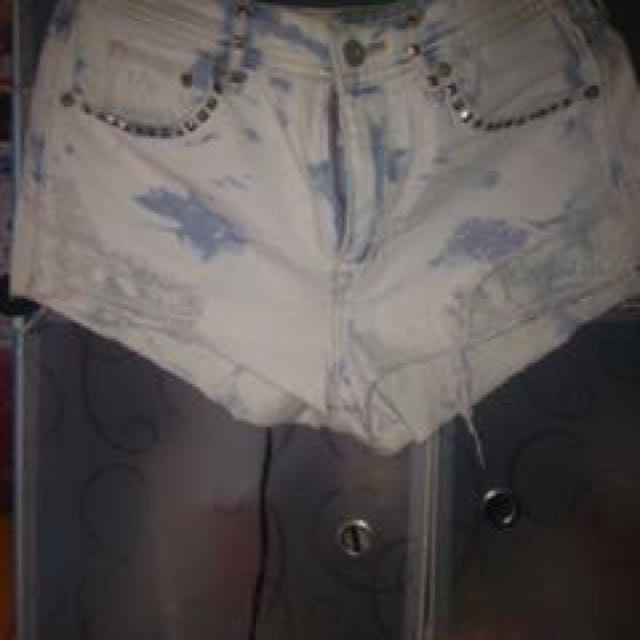 Acid Wash High Waist Size 32