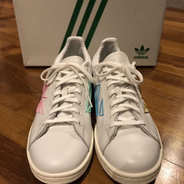 buy online 854f9 cd23c Adidas Consortium X Shigeki Fujishiro Stan Smith Play, Mens Fashion,  Footwear on Carousell