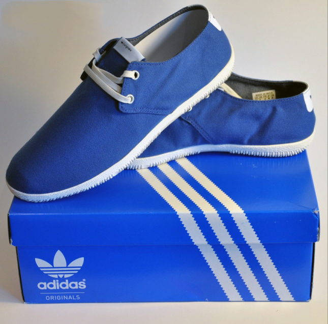 e0afbbc8f015 Adidas Toe Touch Lace Shoes Blue
