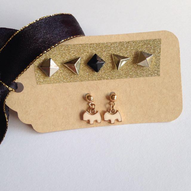 Assorted Stud Earrings!