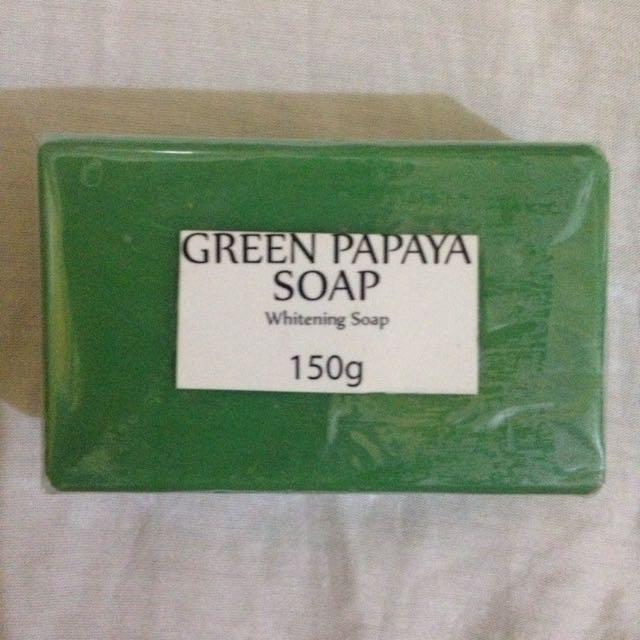 BeauSkin   Green Papaya Soap