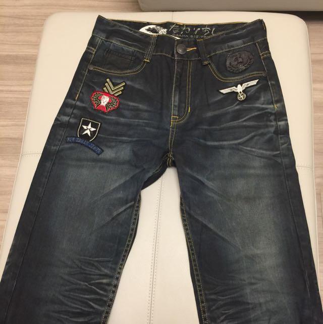 BIG TRAIN 牛仔褲