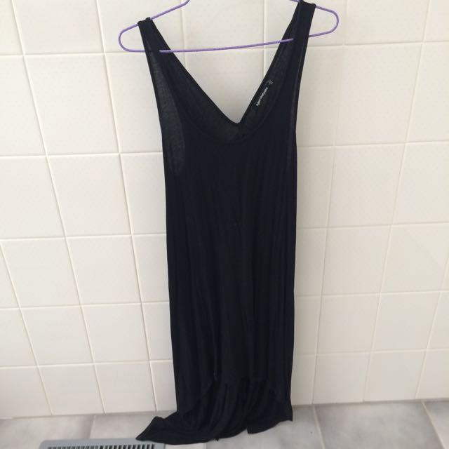 Black Casual Dress Size L