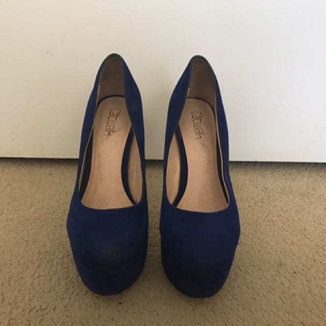 Blue High Heels (Pumps)