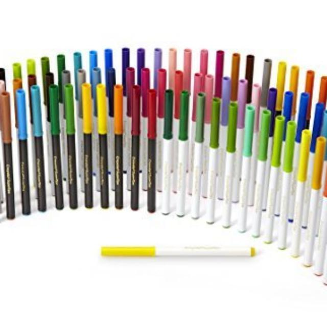Bnew Crayola Super Tips, Washable Markers, 80 Count, Includes Scented Markers